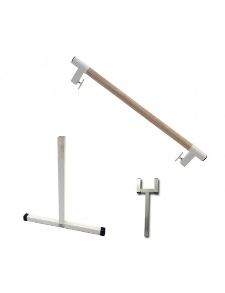 Kit extension barre danse amovible bois
