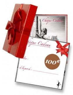 Chèque cadeau pour passionné de danse 100€