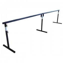 Barre de danse amovible réglable Standard double 2 X 2 mètres