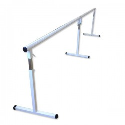 Barre danse réglable Amovible Standard double 2X1,5m