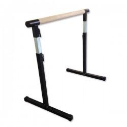 Barre danse réglable amovible Longeur 1,5M bois