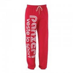 Pantalon Panzeri en Rouge/Blanc
