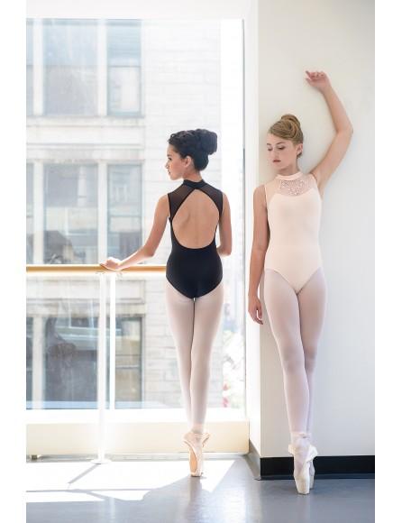 Justaucorps dentelle Ballet rosa