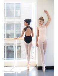 Justaucorps Anita dentelle Ballet rosa