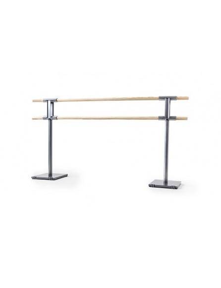 barre de danse amovible avec roulettes en 2m ou 3m. Black Bedroom Furniture Sets. Home Design Ideas