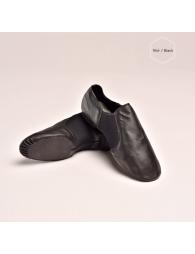 Bottines sans lacets de moderne jazz basses en cuir