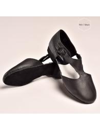 Chaussures de professeur en noir ou tan
