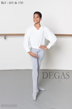 Chemise danseur à col manches amples