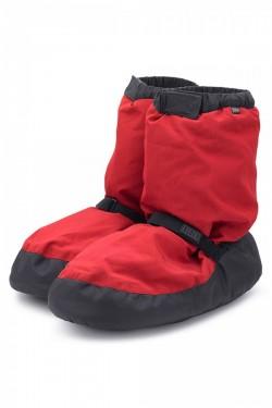 Boots échauffement Bloch rouge