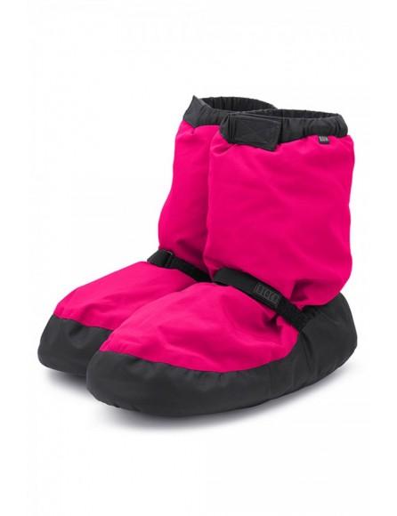 Boots échauffement Bloch Fluo Rose