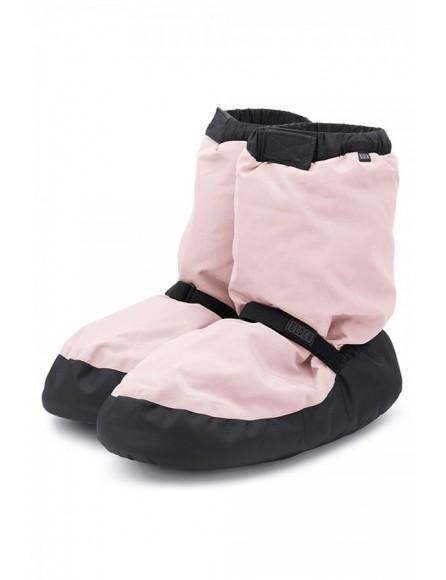 Boots échauffement Bloch Rose