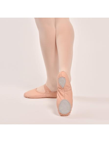 Chausson Danse demi-pointe cuir idéale pour la danse classique alldance
