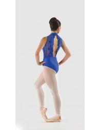 Justaucorps Ballet Rosa Amélie Col officier dentelle