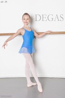 Tunique blanche fines bretelles Degas