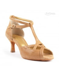 Chaussures Camel nubuck danse Portdance