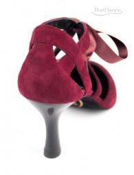 Chaussures Bordeaux nubuck danse Portdance
