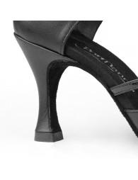 Chaussures cuir noir danse Portdance