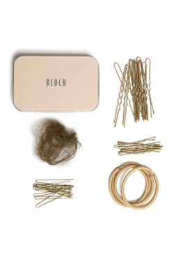 Kit chignon Bloch chatain