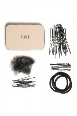 Kit chignon Bloch brun