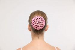 Cache chignon rose avec ou sans strass