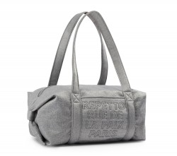 Sac Repetto gris chiné polochon