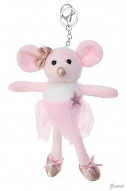 Petite Souris Ballerina en porte clef