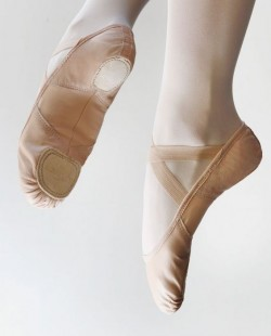 Demi-pointe extensible en cuir  Sodanca