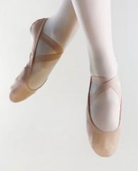 Demi-pointe haut de gamme Sodanca en cuir extensible