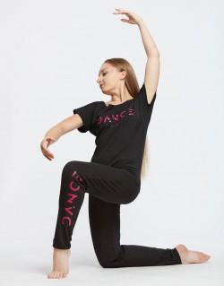 Pantalon de danse fuschia