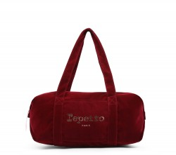 Sac Repetto Velours Bordeaux