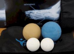Boules de massage pour pieds de danseuse