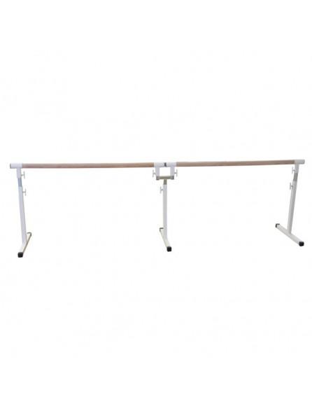 Barre de danse r glable amovible de 2x1 5 m tres avec for Barre danse
