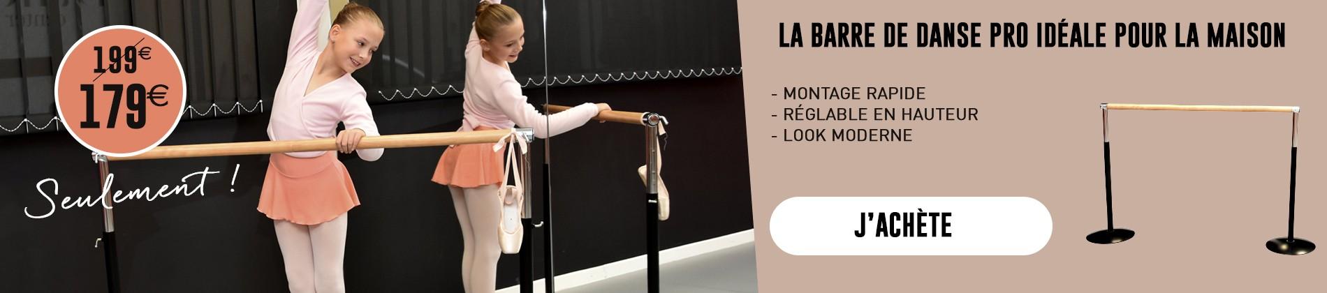 Barre de danse pro à 179 €