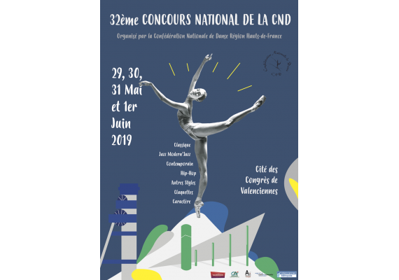 Retrouvez votre magasin All Dance à la finale nationale de danse à Valenciennes du CND !